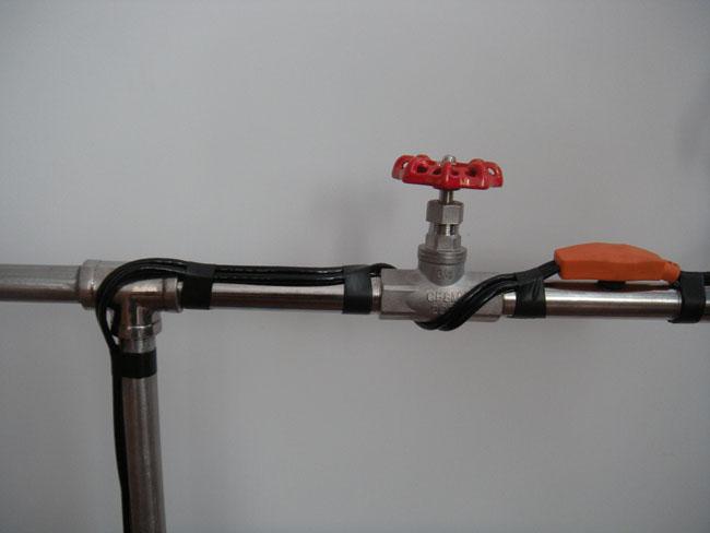 Water Pipe Heating Cable Jiangyin Pawo Electronics Co Ltd